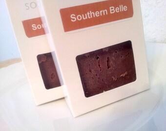 Southern Belle Handmade Vegan Soap Honeysuckle Rose Soap Floral Olive Oil Soap 5oz
