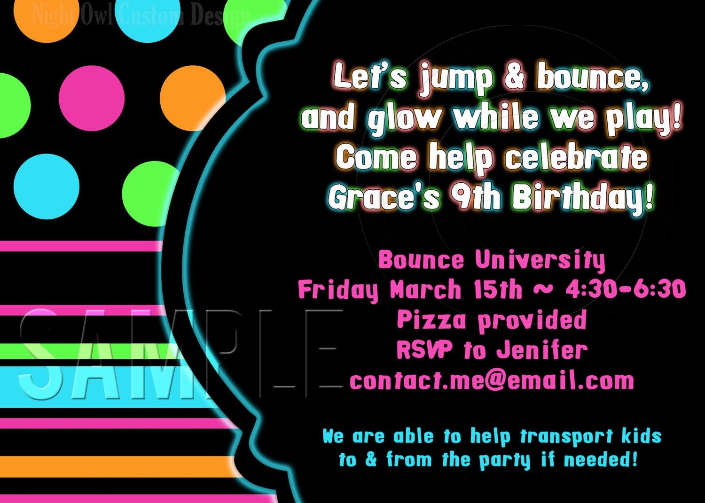 bounce house birthday invitations us bounce house birthday invitations as nice invitation example