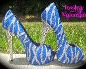 Frozen Glitter Heels