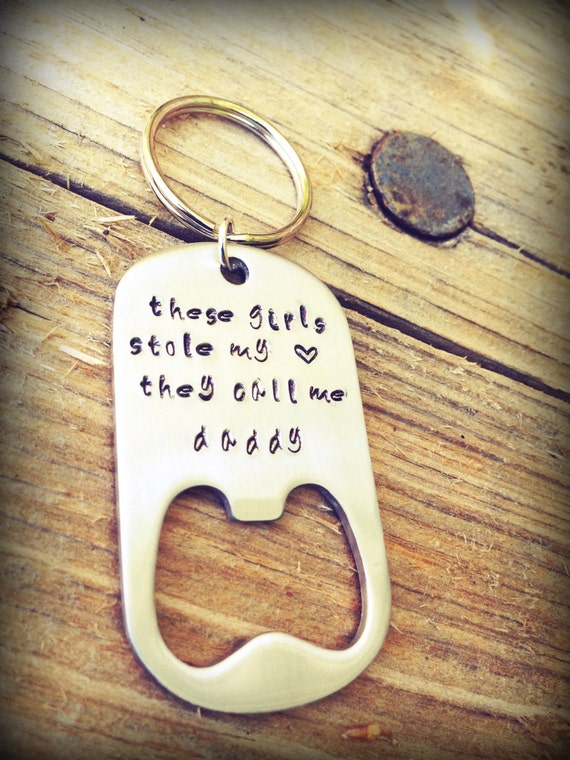items similar to father 39 s day gift key chain bottle opener personalized key chain engraved. Black Bedroom Furniture Sets. Home Design Ideas