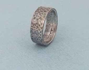 One of a kind Valentine Gift,  Silver coin ring 1939 Washington Qtr, 90% fine silver jewelry size 8 1/2