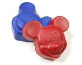 Mouse with ears crayon set of 2 crayons by Scribblers Crayons