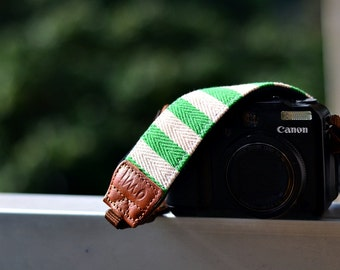 Greeny Camera Strap suits for DSLR / SLR with Quick Release Buckles