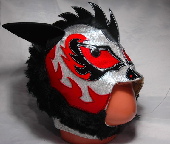Mad Dog Wrestling Japanese Style Mask