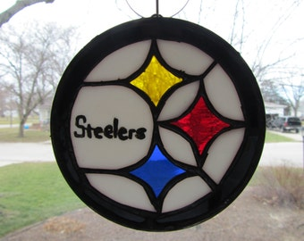 Pittsburgh Steelers Suncatcher