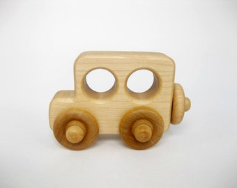 Wooden Toy Truck, little wood toy