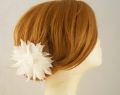 Pure Silk Wedding Hairpiece, Bridal Hair Piece, Bridal Hair Flower, Wedding Hair Flower Hair Clip, Wedding Hair Piece Bridal Hair Accessory