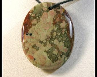 Original Untreated Rocky Butte Jasper Focal Bead