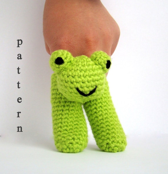 Sweater Knitting Pattern For Beginners : Two Finger Amigurumi Puppets Pattern crochet pattern by PureCraft