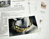 """Tutorial  for the """"Creative Components Wrap"""" inspired www.ContemporaryGeometricBeadwork.com)"""