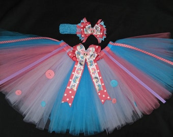 La la loopsy inspired tutu set, custom made any size Newborn-4t
