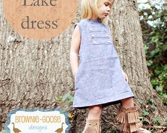 BG Originals The Lake Dress pdf pattern
