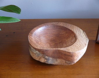 Coin Tray - Wooden Foyer Bowl - Home Decor - Hand Crafted