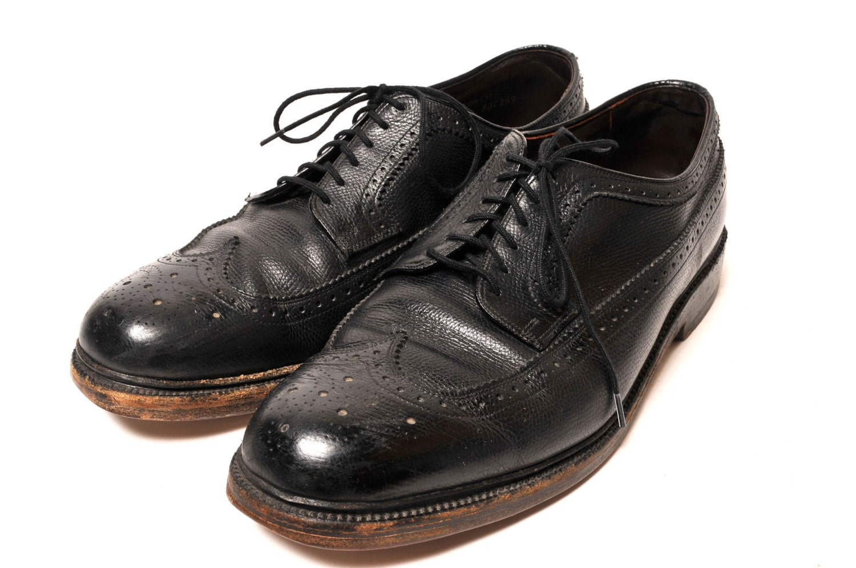 mens dress wingtip shoe size 9 5 eee wide by