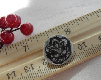 Boy Scout Fleur-De-Lis Be Prepared Button