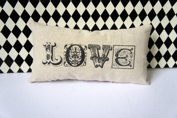 A Little Love Mini Pillow - Romantic - Valentines Day