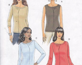 Butterick 5387 pullover tops uncut unused sewing pattern Sizes 14 16 18 20 OOP