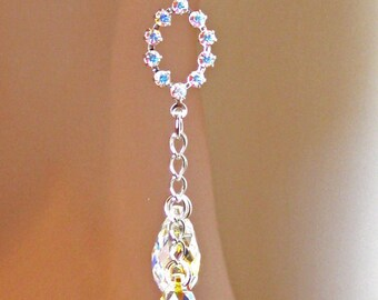 Dangle Crystal Bridal Earrings, Bridesmaids Gifts, Wedding Jewelry, Gifts, Bridesmaids Jewelry