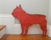 French Bulldog Large Size Oversized Frenchie Dog Wall Art - SlippinSouthern