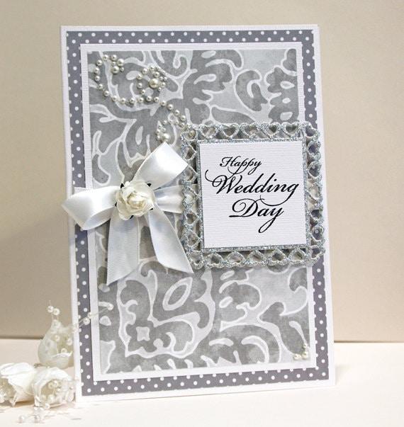 wedding card handmade card wedding congratulations card