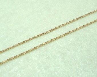 A-44-1. 20M Gold Plated 135sf chain