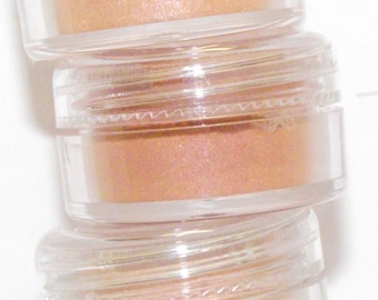 Mineral eye shadow shades of Orange shadow Choose one