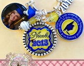 2016 Graduation Gift - Class of 2016 GIFT, Personalized Keychain, Gift, Graduate, Grad Key Chain, GRAD, Graduation Cap, Inspirational Quote