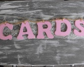 Custom Wooden Cards Sign Cards Banner