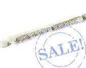 SALE 10% OFF - Filigree Yad Torah Pointer 925 Sterling Silver  Beautiful Bar Mitzvah Gift Judaica - Free Shipping ID872