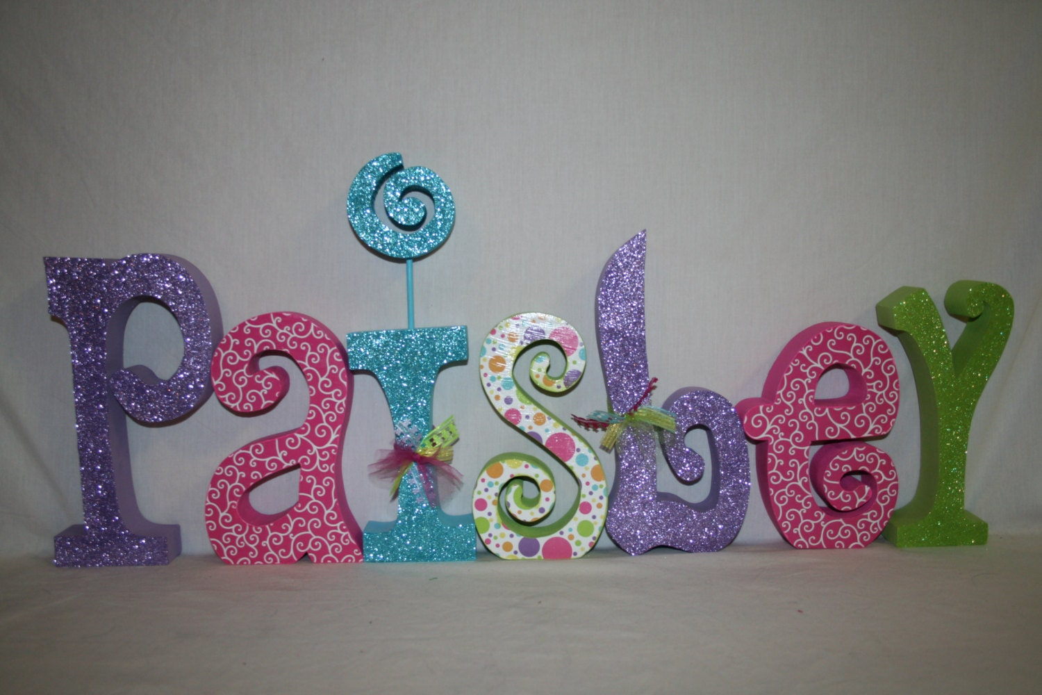 Nursery Letters Wood Letters Name Letters 7 Letter Set