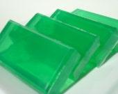 Pear Soap For Men, Green Soap, Homemade Soap, Bar Soap - 1/4 lb Soap - One Quarter Pound Soap