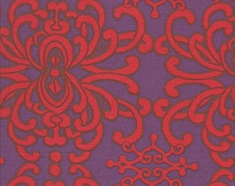 FEELINGS - Cherry Damask - Art Gallery F-92