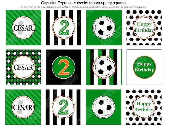 Items similar to DIY Soccer Birthday Party PRINTABLE ...