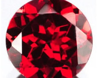 Red Garnet Faceted Rounds 5 MM Priced Per Each