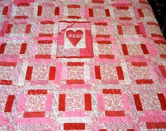 Always and Forever Custom Love Quilt