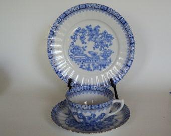 Vintage China Dishes by China Blau Rosslau