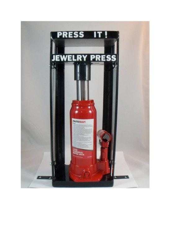 Hydraulic press jewelry press metal stamping die cutting for Metal stamping press for jewelry