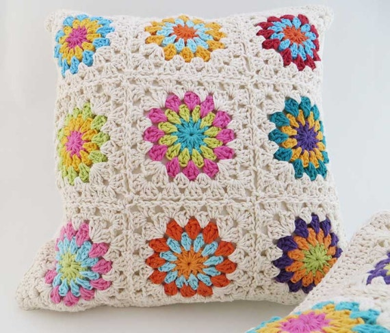 Hacer cojines tejidos crochet - Imagui