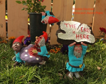 Zombie Gnomes: The Series of Survivors