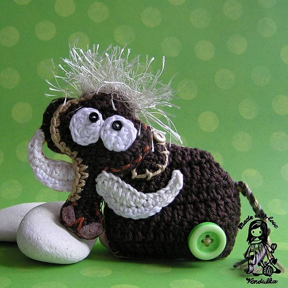 Crochet mammoth  - pdf pattern DIY