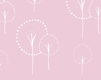 Half Yard Glimma Canvas Kulla in Rosey Cheeks, Lotta Jansdotter, Windham Fabrics, 100% Cotton Canvas Fabric, 35376C-3
