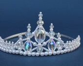 Pretty Princess Crystal  Bridal Tiara
