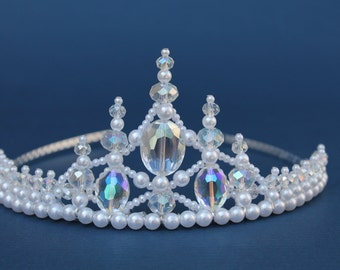 Pretty Princess Crystal  Bridal Tiara