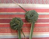Hand Woven Palmetto Frond Flowers
