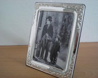 Handmade Sterling Silver Photo Picture Frame 1010 13x18 GB new