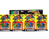 4 Wacky Packages Sticker Packs Topps