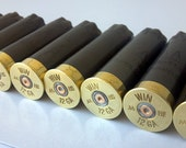 Custom Order - Huge Lot 12 Shotgun Shells 12 Gauge Winchester Gold Color Empty Shotgun Shells