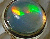 OPAL 14K Gold (3mm / AAA+ grade Ethiopian Welo Opal)