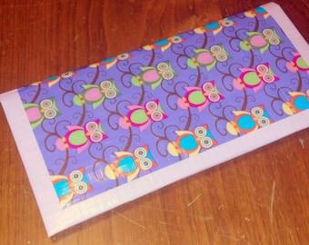 SALE: Retro Owl Duct Tape Wallet