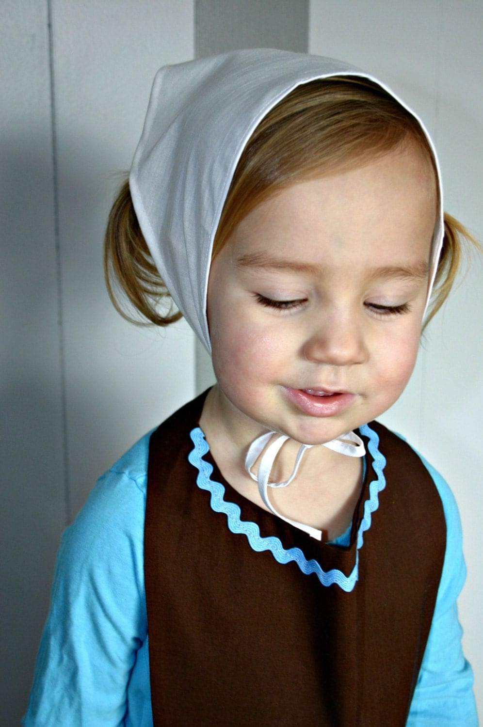 Child Kerchief Head Covering Scarf Cap Hat By